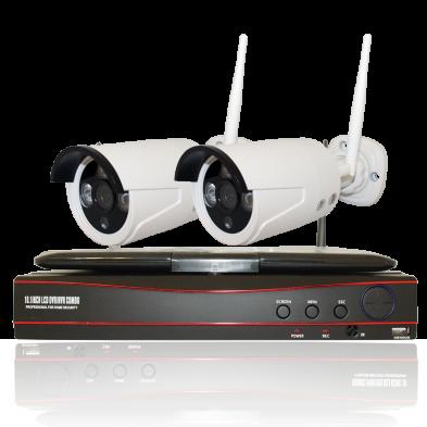 Комплект WS2: 2 камеры 720p + ресивер с экраном